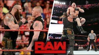WWE Monday Night Raw - November 5 ,2018 Highlights - WWE Raw 05/11/1018 Highlights
