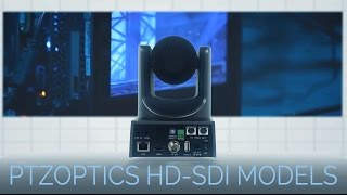 3G HD-SDI Broadcast PTZ Cameras