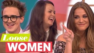 Tom And Giovanna Fletcher Meet Mario's Girlfriend Vicky Pattison 'For The First Time' | Loose Women