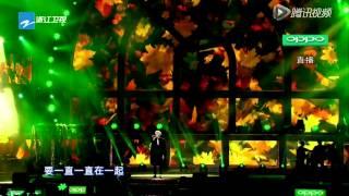 2014 12 31期 吴亦凡披风衣帅气演唱《时间煮雨》引全场沸腾   高清在线观看   腾讯视频