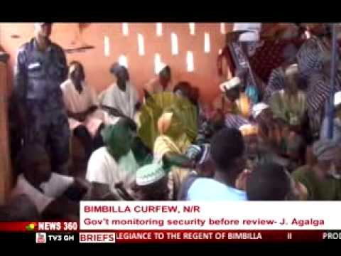 News360 - Update on Bimbilla curfew  - 29/7/2015