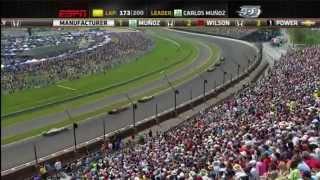 Indycar 2015 - Fecha 6 - Indianapolis 500 (Audio Español Latino)