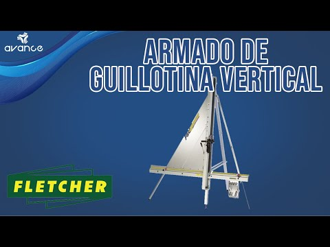 ARMADO DE CORTADORA VERTICAL MANUAL FLETCHER FSC™