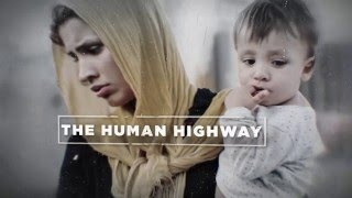 Europe's Refugees Travel the Human Highway