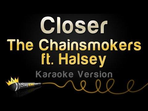 The Chainsmokers ft. Halsey - Closer (Karaoke Version)