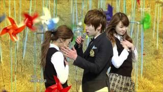 K.will - My Heart Beating, 케이윌 - 가슴이 뛴다, Music Core 20110423
