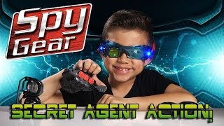 SPY GEAR Mission Extreme Kit with DART BLASTER & NIGHT GOGGLES! [EvanTubeHD CLASSIC]