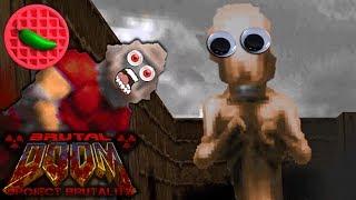 CORWIN = THE MOST DANGEROUS PREY -- Project Brutality 3.0 Test Update (Final Doom: Plutonia)