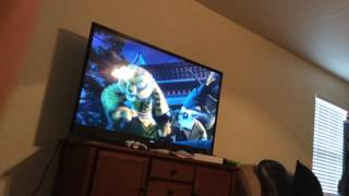 Kung fu panda 3 jade palace destroyed