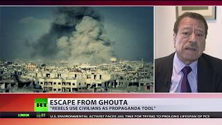 Shooting down chances of peace? Militants shell humanitarian corridor in E. Ghouta, Syria