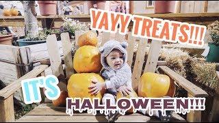 Vlog #159 | WOHOO IT'S HALLOWEEN! ETHAN DAPET BANYAK TREAT!