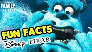 Disney Pixar Movies FUN FACTS | Monsters, Inc.