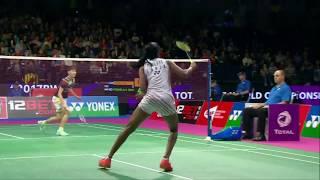 TOTAL BWF World Championships 2017 | Badminton SF M10-WS | Chen Yufei vs Pusarla V. Sindhu