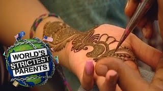18Yr Old Gets Tattoo Gift From Mom | Supernanny USA