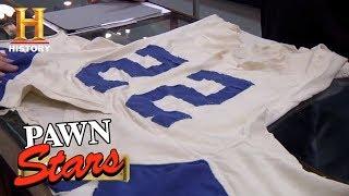 Pawn Stars: Bob Hayes Game Worn Jersey (Season 9) | History