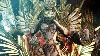Bayonetta: Jubileus Final Boss Fight and Ending (WiiU 1080p 60fps)