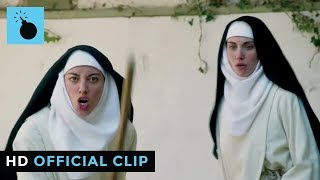 The Little Hours | Official Clip #1 - Alison Brie & Aubrey Plaza Berate Dave Franco