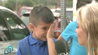 هذا الطفل أبكى العالم العربي كله و سوف تبكي انت الآن   شاهد المفاجئة