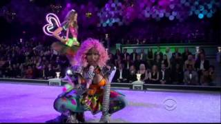 Nicki Minaj - Super Bass & The Finale (Victoria's Secret Fashion Show) (1080p HD)