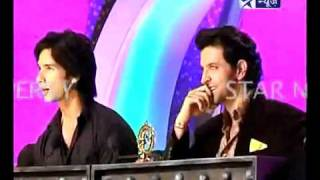 Shahid Kapoor in 'Just Dance' with Hrithik Roshan