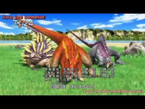 Dinosaur King meets Go Onger