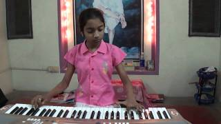 Playing Piano style by R Madhumitha, song ; Unnai naan, film Jey Jey