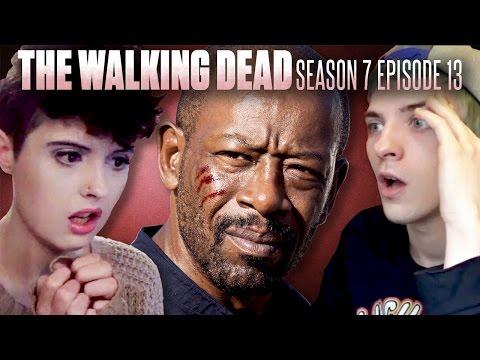 The Walking Dead Morgan Bury Me Here Fan Reaction Compilation