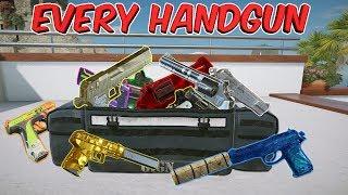 ALL 18 HANDGUNS in Tom Clancy's Rainbow Six Siege Operation Para Bellum