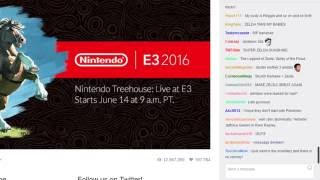 Nintendo @ E3 2016 with Twitch Chat (Pre-Stream)