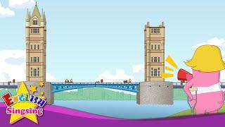 London Bridge is Falling Down - Lyrics & Karaoke - Fun Nursery Rhymes for Kids - Cartoon Rhymes