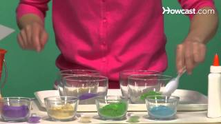 How to Make a Sand Painting