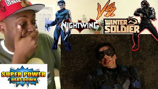 OMG! NIGHTWING vs WINTER SOLDIER - Super Power Beat Down (Episode 19)REACTION!!!