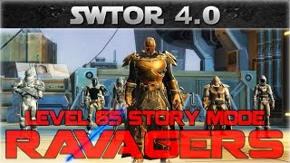 SWTOR 4.0 Ops: The Ravagers 8SM Full Run - lvl65 Carnage Marauder (With Commentary)