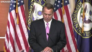 Boehner Thanks Police Officers for Their Service & Sacrifice