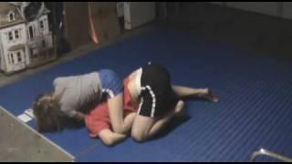 World Champion JiuJitsu Girl Puts Dad to Sleep!!!