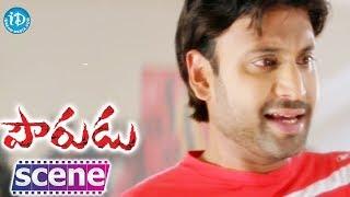 Sumanth, Kajal Aggarwal Romantic Scene - Pourudu Movie