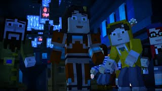 Minecraft Story Mode Female Playthrough Episode 6 A Portal to Mystery Full Playthrough