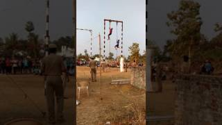 Rope climbing competition