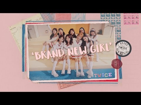 TWICE「BRAND NEW GIRL」Music Video