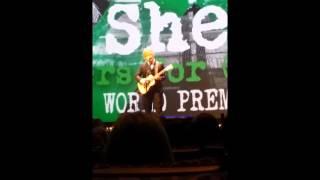 Ed Sheeran live performance of Tenerife Sea