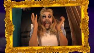 Celebrity Juice - Holly Willoughby gets a fright on the Halloween special