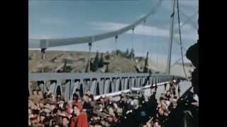 The Opening of the Peace River Bridge August 30th 1943