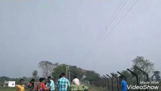 Saraswati puja #INDIA-BANGLADESH BORDER#a village fair