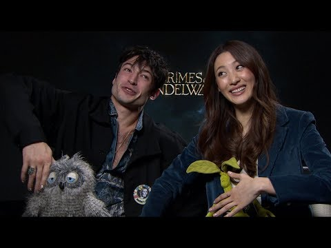 Xxx Mp4 Ezra Miller Amp Claudia Kim On Fantastic Beasts The Crimes Of Grindelwald 3gp Sex