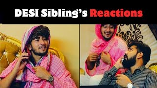 DESI Siblings Reactions By Karachi Vynz Official