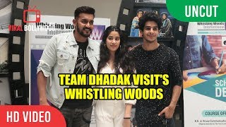 UNCUT - Jhanvi Kapoor, Ishaan Khattar, Shashank Khaitan Visits Whistling Woods Academy