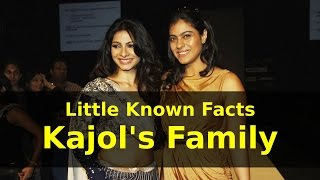 Little Known Facts Kajol's Family