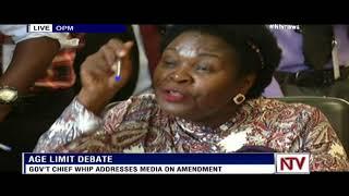 Ruth Nankabirwa on age limit debate: We are not planning for life presidency