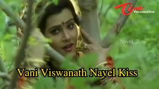 Vani Viswanath Navel Kiss Complitation