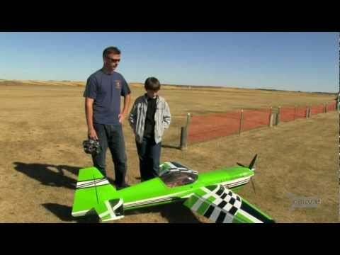 EG AIRCRAFT MXS R 50cc 3D Flight 1